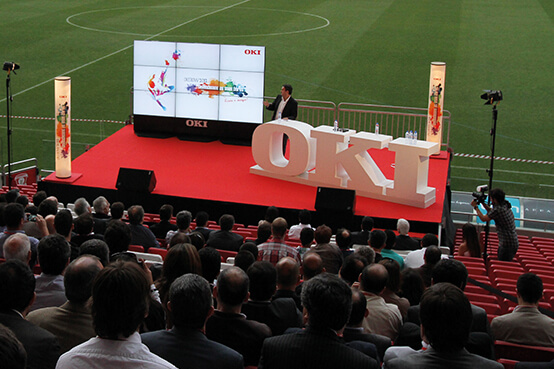 Evento OKI no Estádio do Sport Lisboa e Benfica