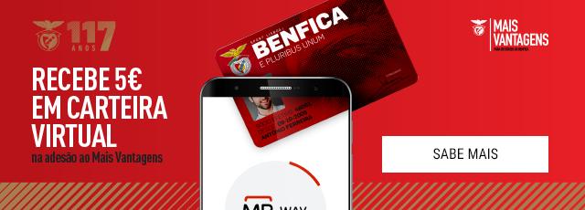 Vantagens 117 anos Benfica