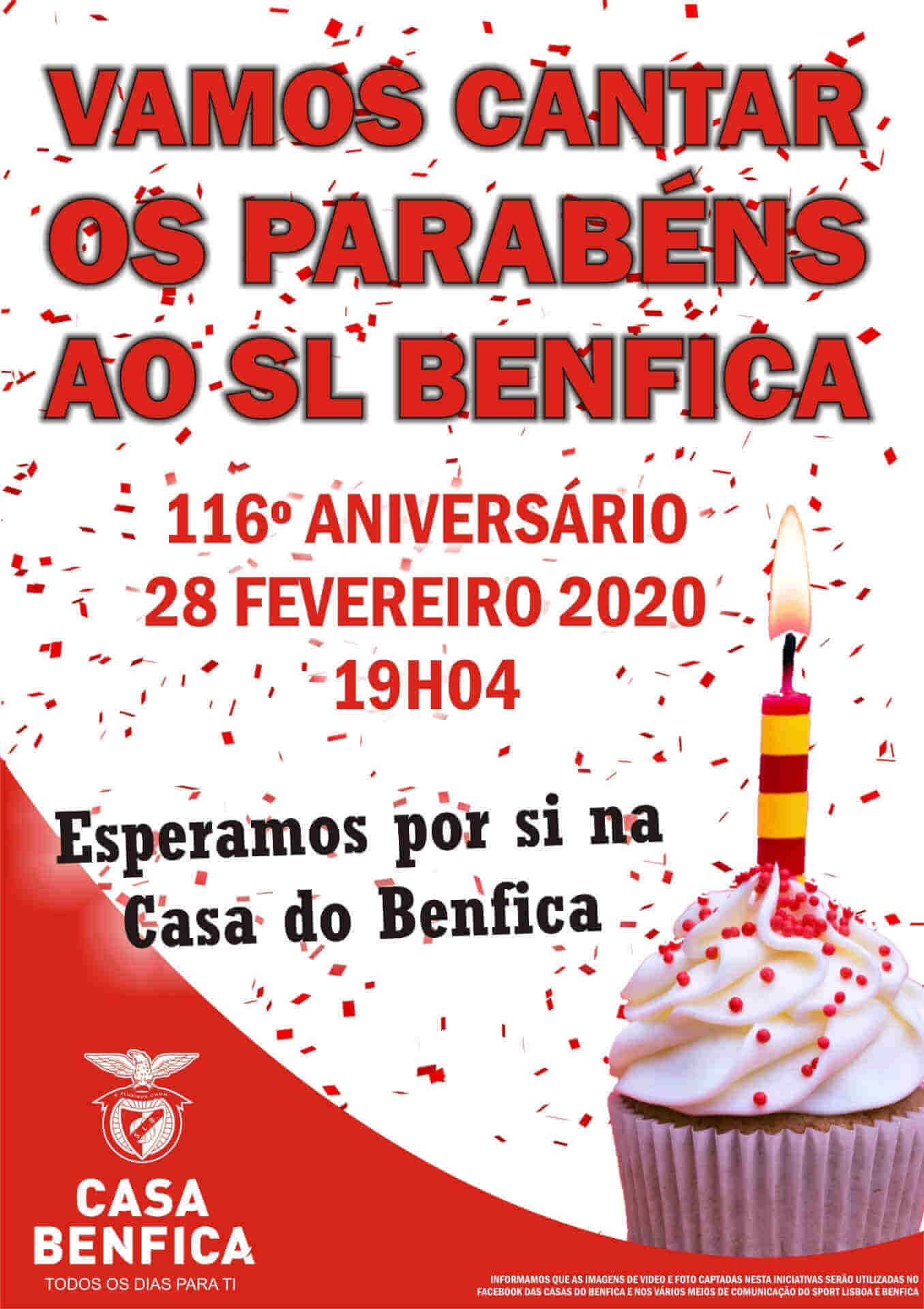 Parabéns Benfica - Casas do Benfica