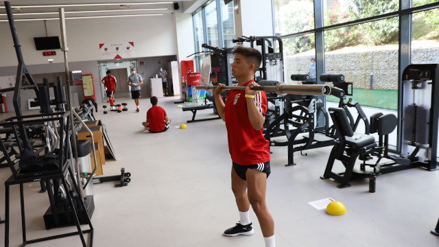Regresso Youth League Benfica Futebol