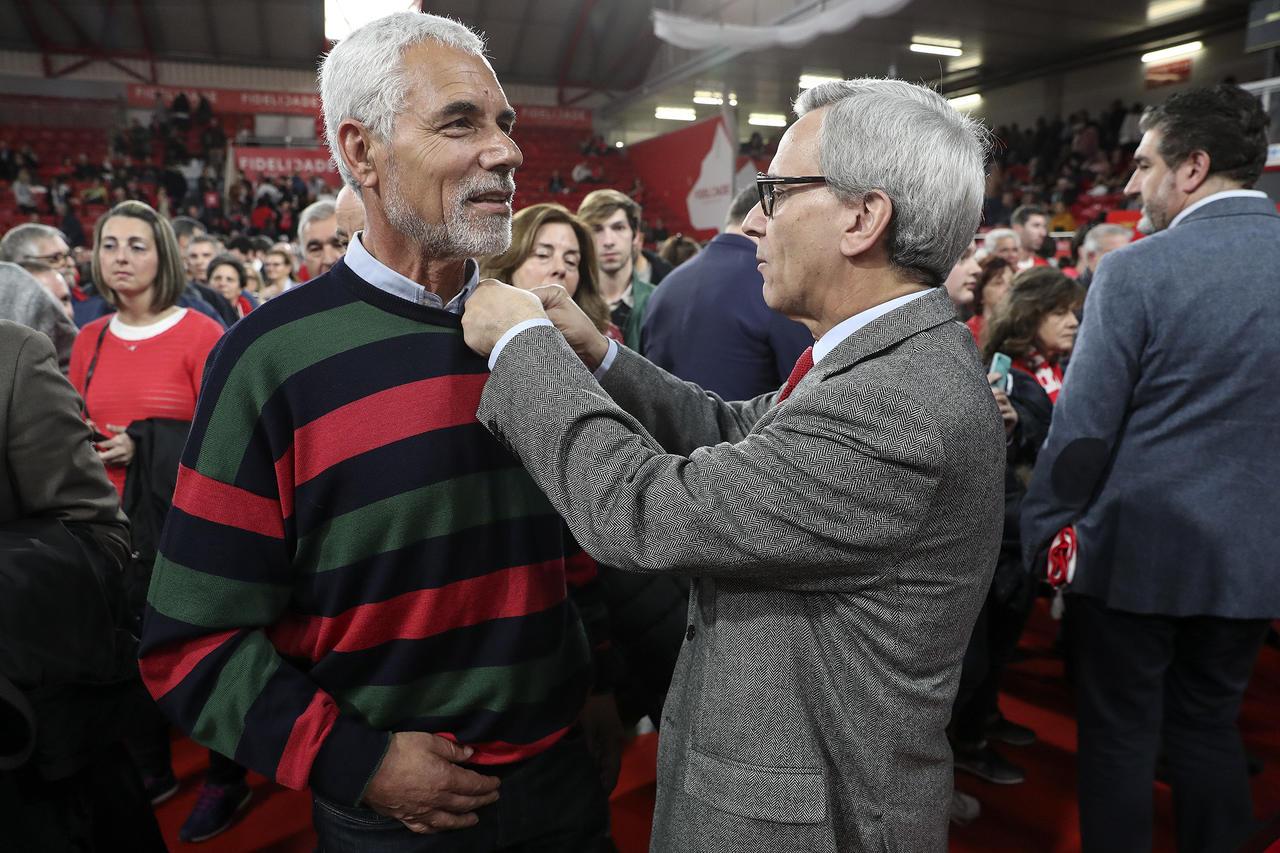 Cerimónia Anéis e Emblemas Dedicação Benfica