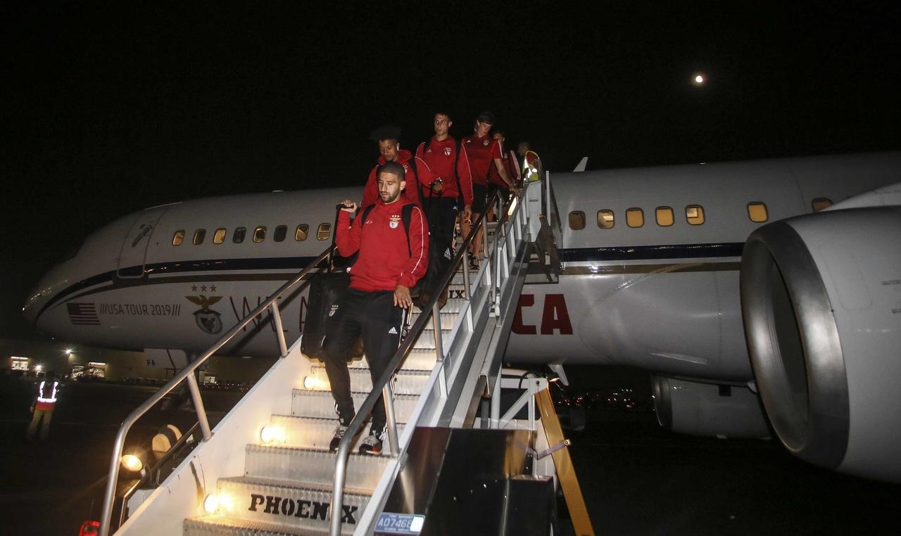 Viagem Benfica Califórnia Nova Iorque