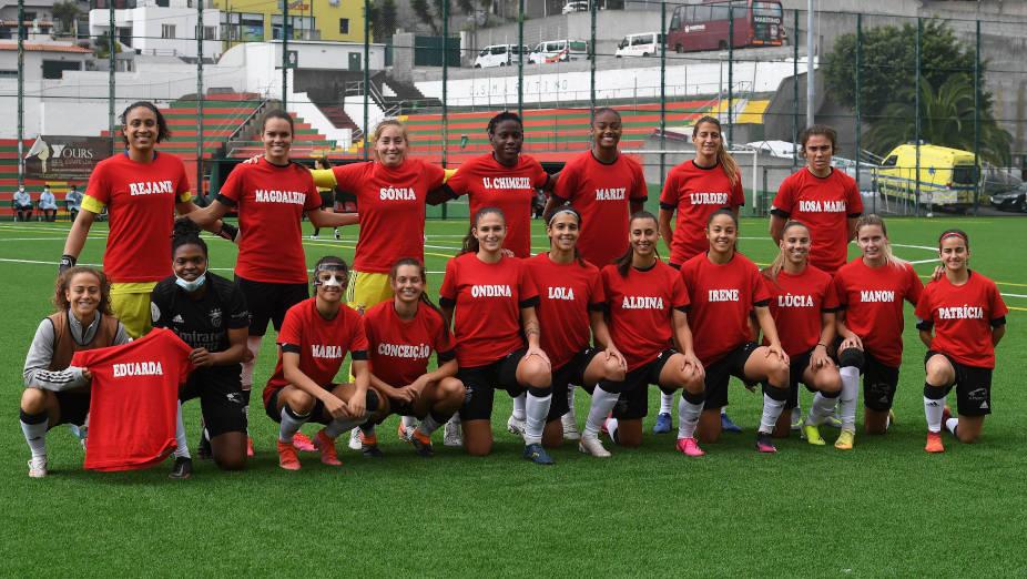 Marítimo-Benfica Futebol feminino Liga BPI
