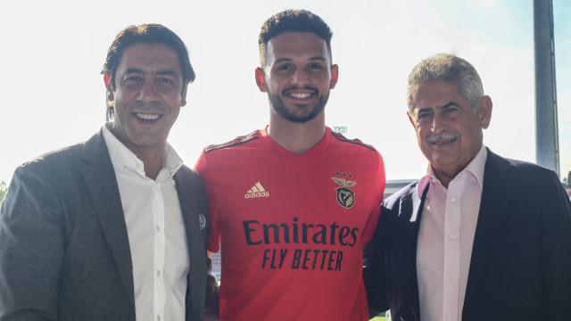 Gonçalo Ramos Renovação de Contrato até 2025 Benfica