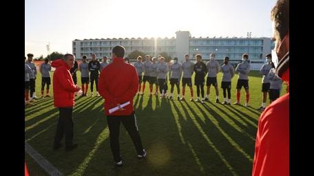 Primeiro dia Nélson Veríssimo Benfica B