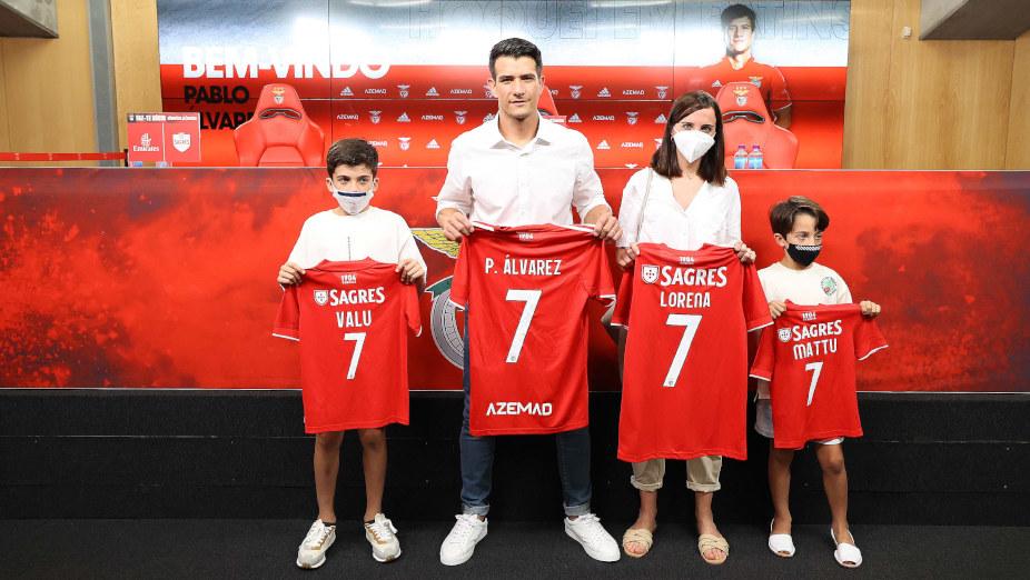 Pablo Álvarez e a família