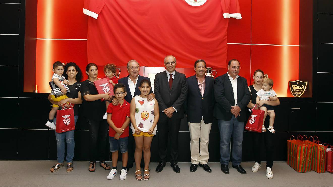 Fundação Benfica em mais uma ação solidária
