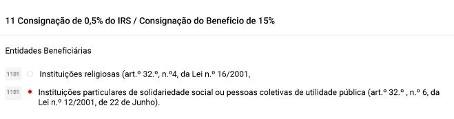 IRS FundaçãoBenfica - Passos