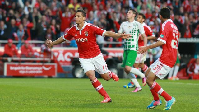 Lima festeja golo contra o Moreirense