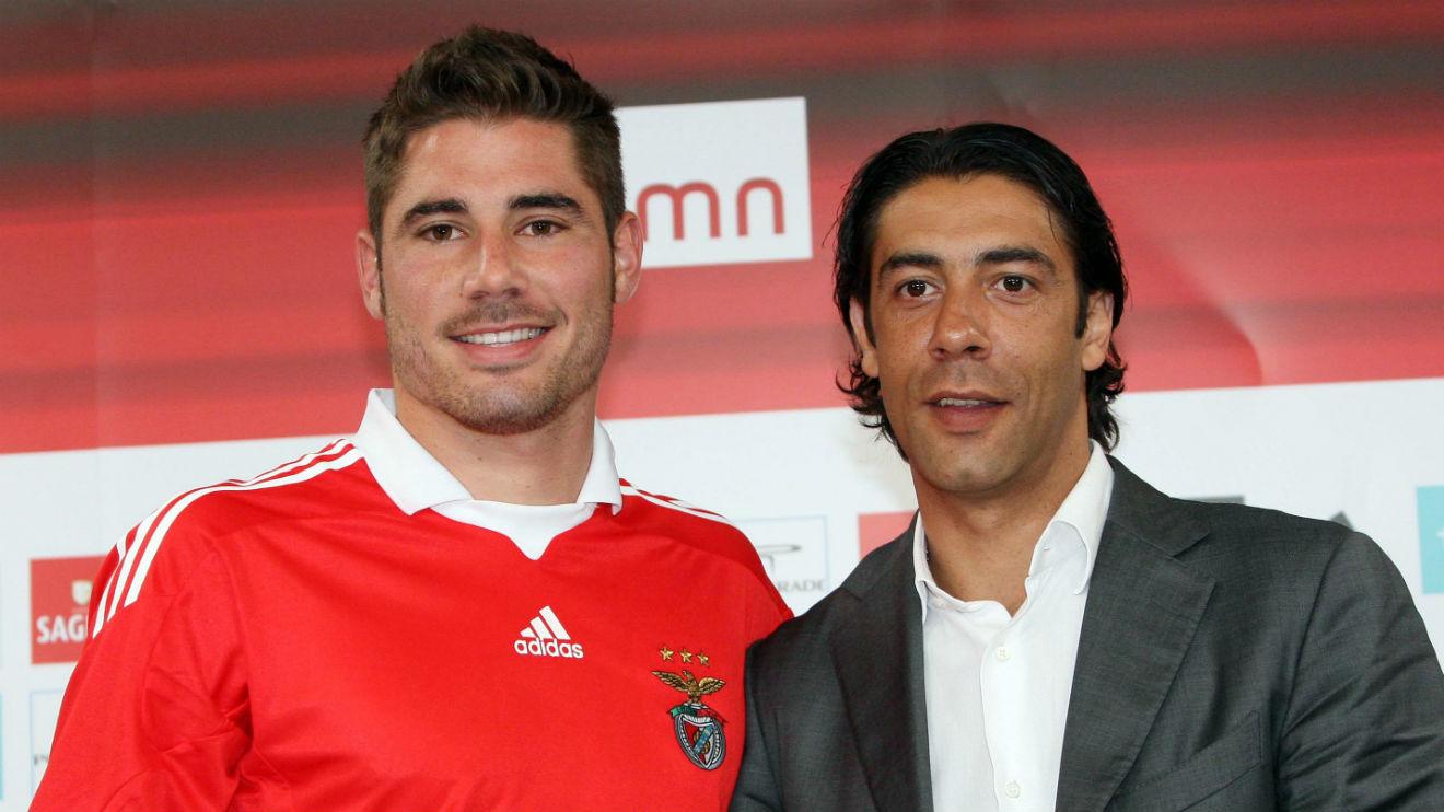 "Javi Garca ""I thank the president and Rui Costa"" SL Benfica"