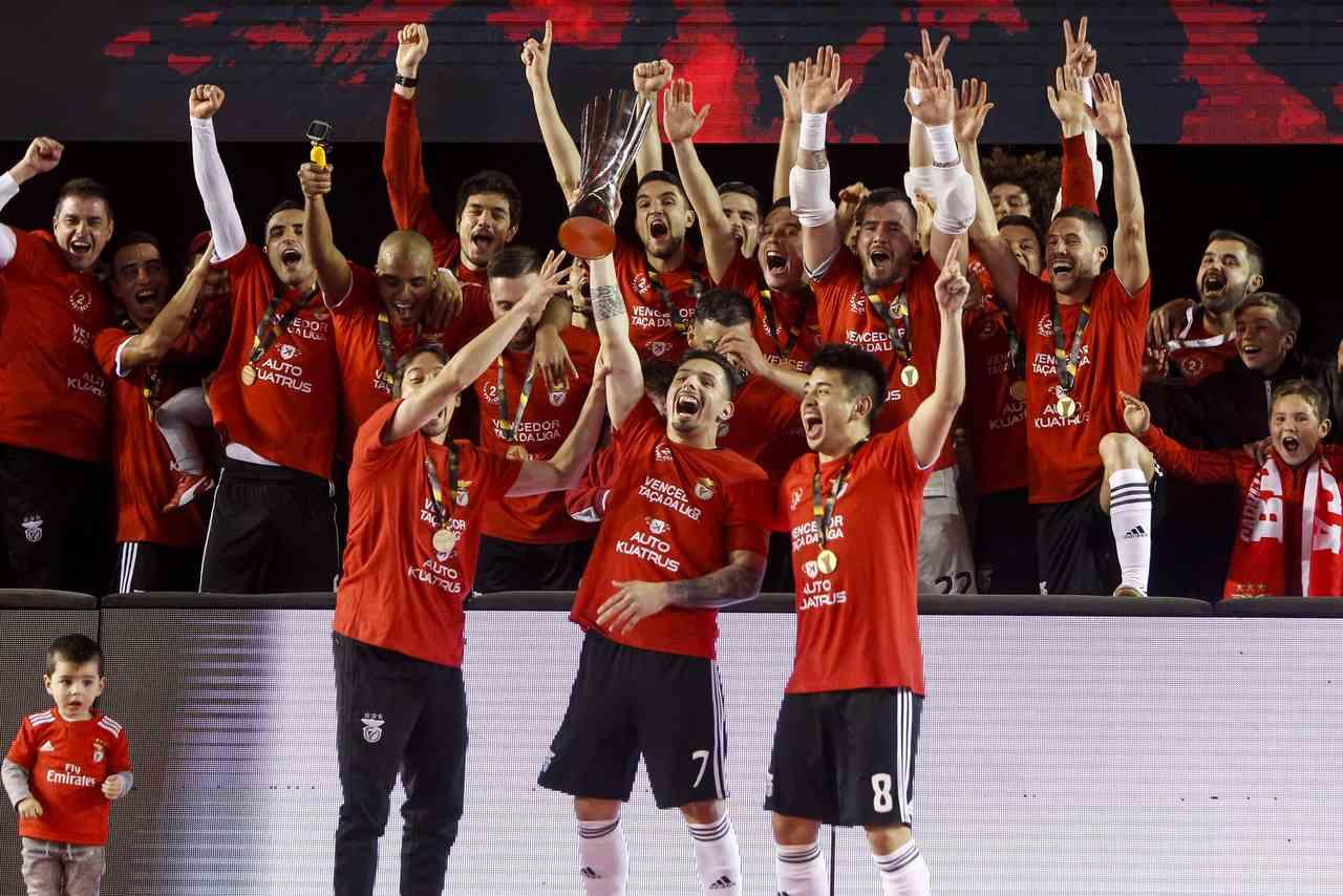 Benfica Final da Taça da Liga de futsal