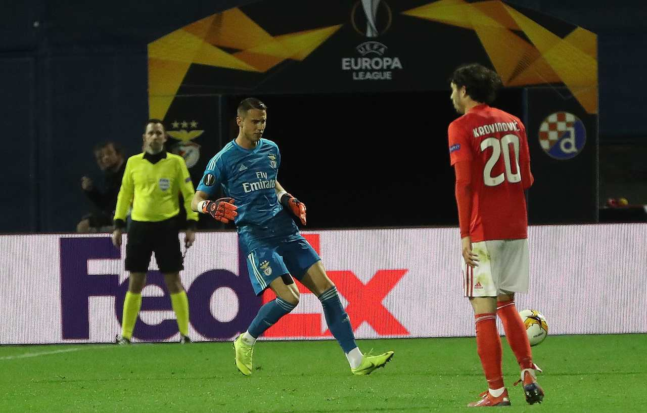 Europa League: The Images Of Dinamo Zagreb-Benfica