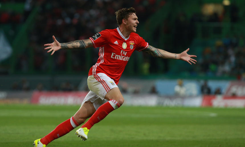 VICTOR LINDELÖF, SWEDEN INTERNATIONAL AND CURRENTLY AT MANCHESTER UNITED