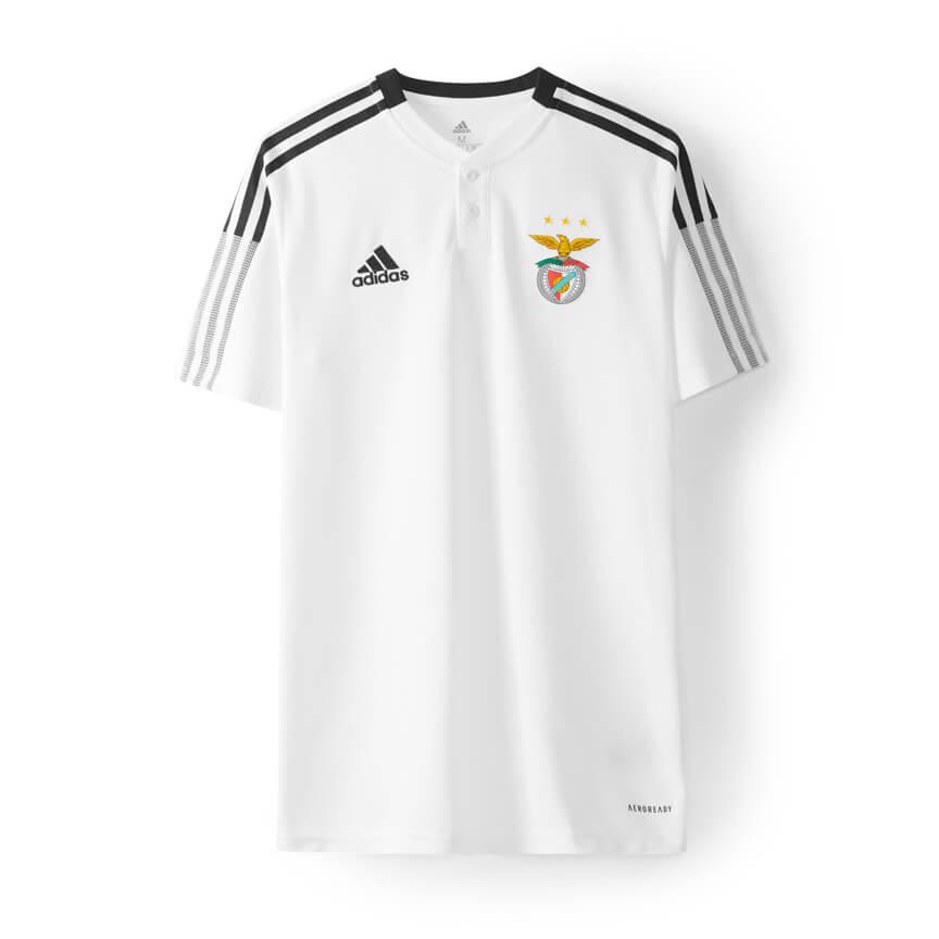 Polo Branco Adidas