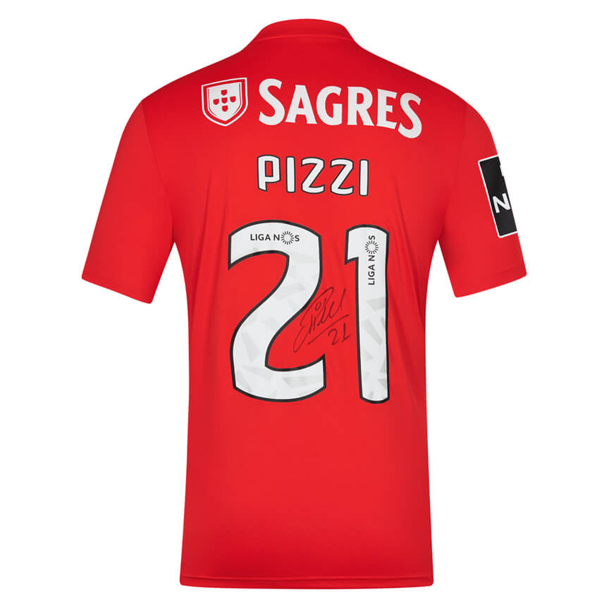 Pizzi Autographed Home Jersey