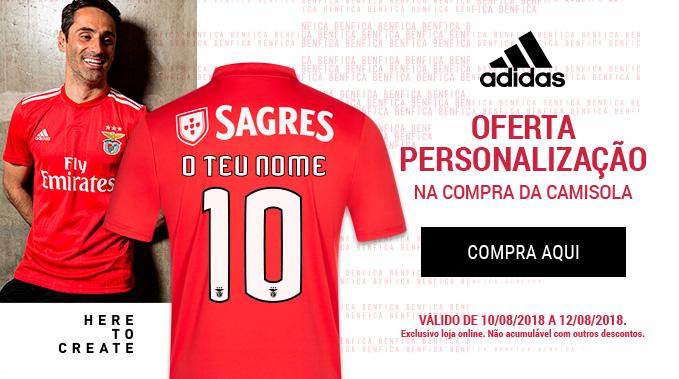 Camisola Principal Adidas Benfica Jonas