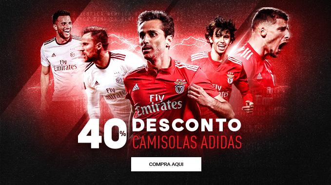 Desconto Camisolas Adidas Benfica