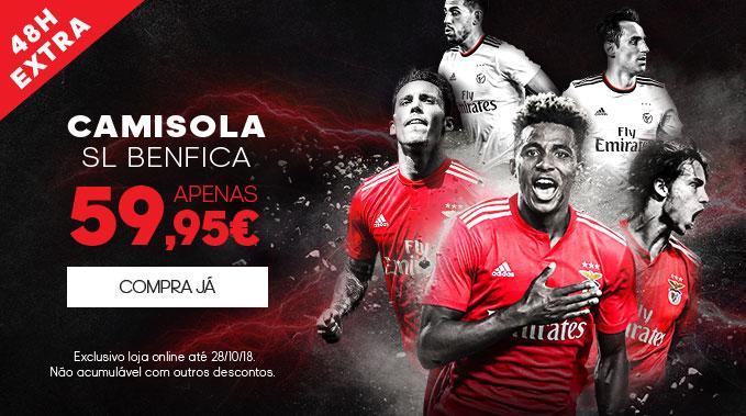 Camisola SL Benfica - Mais 48 Horas